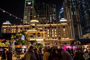 How should a person spend his Christmas in Dubai?